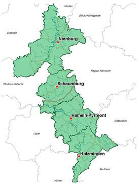 Grfaik: Landkreis Hameln-Pyrmont