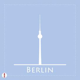Deko-Kissen Panel Berlin zum Selbernähen für Kinder und Wohnzimmer aus Baumwollstoff - alle Farben und Motive möglich - DIY