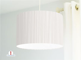 Lampe für Küche und Schlafzimmer mit Streifen in Beige aus Baumwolle - alle Farben möglich