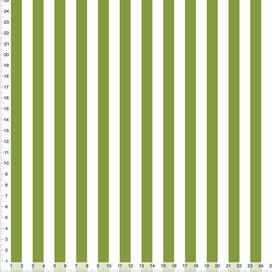Bio-Stoff für Schlafzimmer mit Streifen in Bambusgrün aus Baumwolle zum Nähen - alle Farben möglich