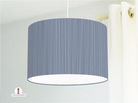 Lampe Küche Schlafzimmer Streifen maritim aus Baumwolle - alle Farben möglich