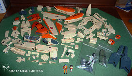 Yamato 1/60 VF-1D v2 disassembled - Ratatarse Factory