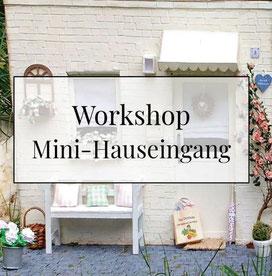 Mini-Hauseingang 1:12 basteln