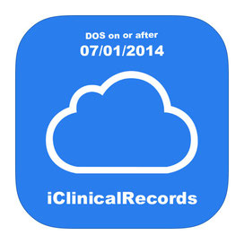 EHR for Cases with initial visit on or after 7/1/14