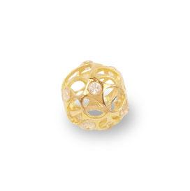 gioielli biancopunto jewels charm globo stellato