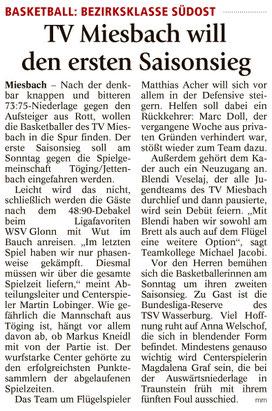 Artikel im Miesbacher Merkur am 14.10.17 - Zum Vergrößern klicken