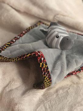 doudou en tissu africain En Toute Maudestie