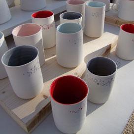 Porcelaine de Mathilde Titoni