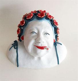 Sculpture porcelaine audrey bignon