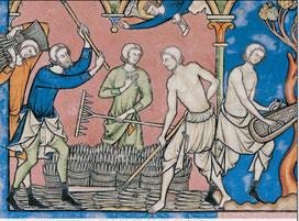 Maciejowski-Bibel: Folio 12v