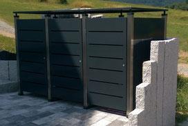 Mülltonnenbox