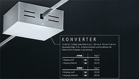 LED Liana Konverter Plug`nLight Technologie