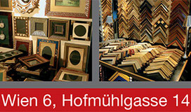 Visit the best framing shop in Vienna Hofmühlgasse 1060 Wien Austria - Rahmenwerkstätte Wien