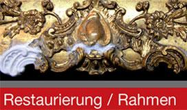 Restaurierung Rahmen 1060 Wien - Werkstätte für Bild und Rahmen Eder Wien