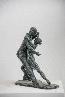 Schlusspose, Bronze, ca.31cm, Auflage 3/7