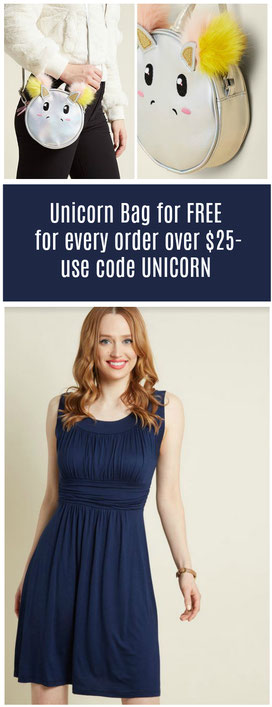 Free Unicorn Bag on orders over $25