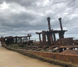 SS Maheno Fraser island