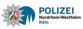 """Logo """"Polizei NRW Köln"""""""