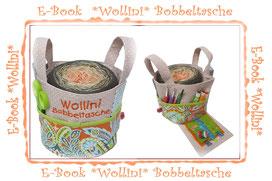 Ebook Wollini, Bobbeltasche, Bobbel-Bag, Bobbel, Farbverlaufsgarn