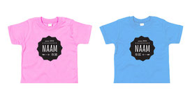 tweeling en meerling T-shirts