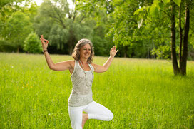 Yoga-Kurs, Hatha-Yoga, Körper, Geist und Seele