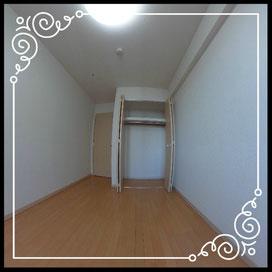 洋室②収納↓360°画像によるバーチャル内覧はこちら。↓D'グラフォート札幌ステーションタワー1702号室
