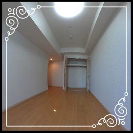 洋室①収納↓360°画像によるバーチャル内覧はこちら。↓D'グラフォート札幌ステーションタワー1702号室