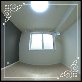 洋室③洗濯物干しあり↓360°画像によるバーチャル内覧はこちら。↓ANIMATO102号室
