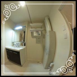 洗濯機置場/給湯器↓360°画像によるバーチャル内覧はこちら。↓ANIMATO102号室