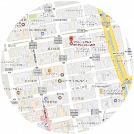 〒001-0014 北海道札幌市北区北14条西2丁目2-7プラシードブルグN14-PlacideBurgN14