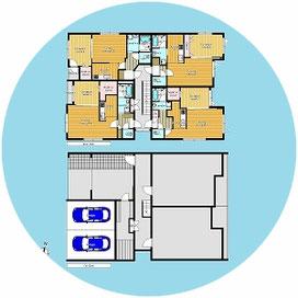 〒001-0012 北海道札幌市北区北12条西1丁目2-15 メゾンドネージュⅡ-MaisondeNeigeⅡ