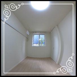 洋室①洗濯ハンガーあり↓360°画像によるバーチャル内覧はこちら。↓ANIMATO102号室