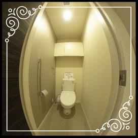 トイレ①ウォシュレット↓360°画像によるバーチャル内覧はこちら。↓ANIMATO102号室