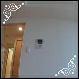 TVモニター付きインターフォン↓360°画像によるバーチャル内覧はこちら。↓D'グラフォート札幌ステーションタワー1702号室