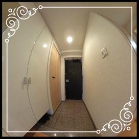 玄関①↓360°画像によるバーチャル内覧はこちら。↓D'グラフォート札幌ステーションタワー1702号室
