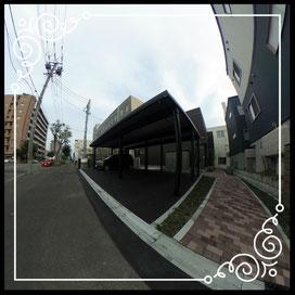 外観②駐車場↓360°画像によるバーチャル内覧はこちら。↓ANIMATO