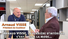 Interview d'Arnaud Visse, président de Coulidoor par Christian Pessey