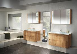 ©Discac, meuble de salle de bain Rivage