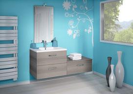 ©Discac, salle de bain Loft Sciée Brun