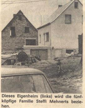 Bild: Seeligstadt Chronik 1985