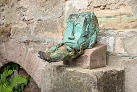 Der Moment I, 2014, Bronze, 22 x 39 x 23cm