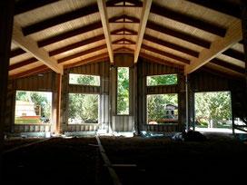 Fellowship Hall under construction
