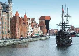 Unterkunft Kurztrip Männertrip Junggesellenabschied JGA nach Polen Gdańsk Danzig Polnische Ostsee