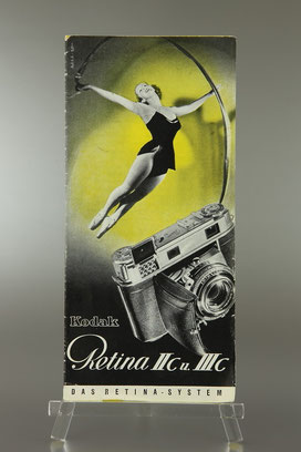 Prospekt KODAK Retina IIc und IIIc  1954  ©  engel-art.ch