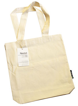 Taschendruck Baumwolltasche Fairtrade-Baumwolle NEUTRAL Twill Bag