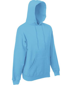 bedrucke Classic Hooded Sweatshirt Fruit of the Loom