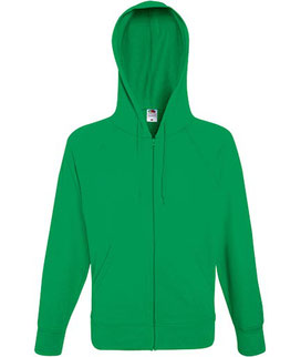 Lightweight Hooded Sweat Jacket Fruit of the Loom