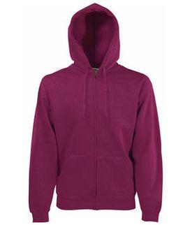 bedrucke Premium Hooded Sweatshirt Fruit of the Loom