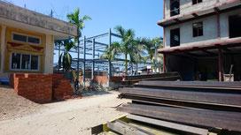 Construction d'un bâtiment à AZM (futures classes) financé partiellement par PASDB.