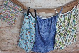 Wetbags, Waschpulver, Windelvlies Zubehör zu Stoffwindeln